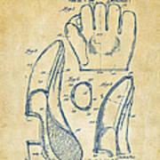 1941 Baseball Glove Patent - Vintage Print by Nikki Marie Smith