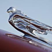 1941 Cadillac Fleetwood 60 Hood Ornament Art Print