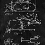 1941 Construction Bulldozer Art Print