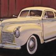 1941 Plymouth - Aunt Clara Art Print