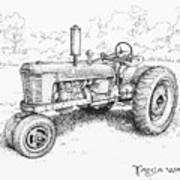 1942 Farmall Art Print