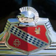 1947 Buick Emblem 2 Art Print
