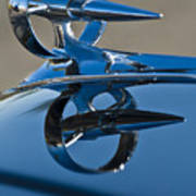 1947 Buick Roadmaster Hood Ornament Art Print