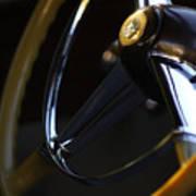 1947 Cadillac Model 62 Coupe Steering Wheel Art Print