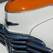 1947 Chevrolet Deluxe Front End Art Print