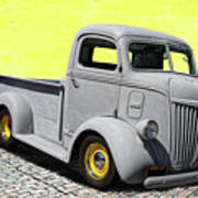 1947 Ford Cab Over Engine Truck Art Print