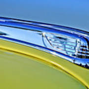 1947 Ford Super Deluxe Hood Ornament 2 Art Print