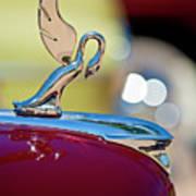 1947 Packard Coupe Hood Ornament Art Print