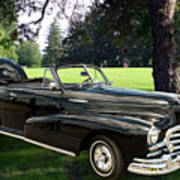 1947 Pontiac Convertible Photograph 5544.07 Art Print