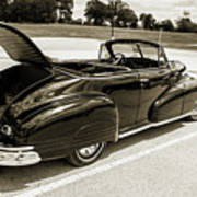 1947 Pontiac Convertible Photograph 5544.64 Art Print