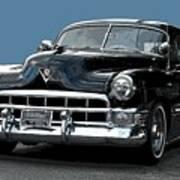 1948 Cadillac Fastback Art Print