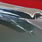 1948 Cadillac Series 62 Hood Ornament Art Print