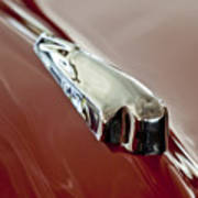 1948 Crosley Convertible Hood Ornament Art Print