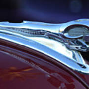 1948 Dodge Ram Hood Ornament Art Print