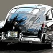 1948 Fastback Cadillac Art Print