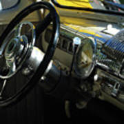 1948 Ford Super Deluxe Dash Art Print