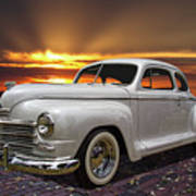 1948 Plymouth Two Door Coupe Art Print
