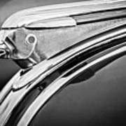 1948 Pontiac Chief Hood Ornament 2 Print by Jill Reger