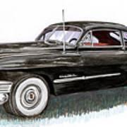 1949 Cadillac Sedanette Art Print