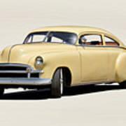 1949 Chevrolet Custom Fleetline Sedan II Art Print