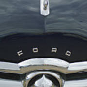 1949 Ford Hood Ornament 4 Art Print