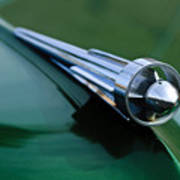 1949 Studebaker Champion Hood Ornament 2 Art Print