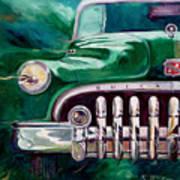 1950 Buick Roadmaster Art Print