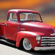 1950 Chevrolet 3100 Pickup 'show Low' I Art Print