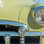 1950 Chevrolet Fleetline Grille Art Print