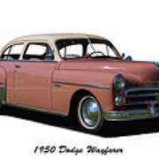 1950 Dodge Wayfarer 2 Door Sedan Art Print