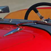 1951 Allard K2 Roadster Steering Wheel Art Print
