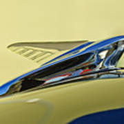 1951 Ford Hood Ornament 2 Art Print