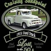 1951 Ford Truck Shields Art Print