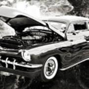 1951 Mercury Classic Car Photograph 001.01 Art Print