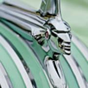 1951 Pontiac Streamliner Hood Ornament 3 Art Print