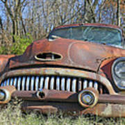 1952 Buick For Sale Art Print