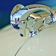 1952 Dodge Coronet  Diplomat Club Coupe Hood Ornament Art Print