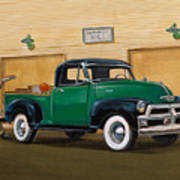 1952 Ford F100 Pickup Art Print