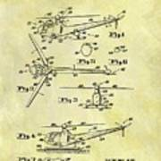 1952 Helicopter Patent Art Print