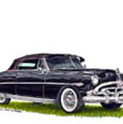 1952 Hudson Hornet Convertible Art Print