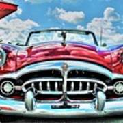 1952 Packard 250 Convertible Art Print
