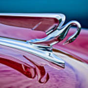1952 Packard 400 Hood Ornament Art Print