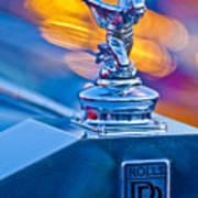 1952 Rolls-royce Silver Wraith Hood Ornament Art Print