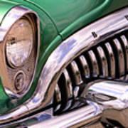 1953 Buick Chrome Art Print