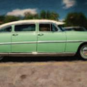 1953 Hudson Hornet Art Print