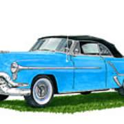 Oldsmobile 98 Convert Art Print