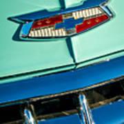 1954 Chevrolet Belair Emblem Art Print