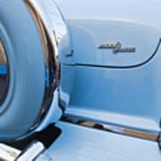 1954 Mercury Monterey Merc O Matic Spare Tire Art Print