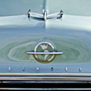 1954 Oldsmobile Super 88 Hood Ornament 3 Art Print