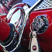 1955 Chevrolet 210 Key Ring Art Print